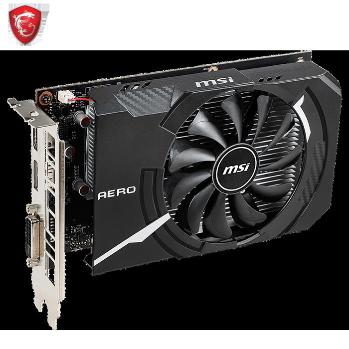 MSI GeForce GTX1650 SUPER AERO ITX 4G OC - MSI Malaysia